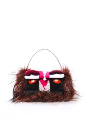 Mini monster Baguette bag