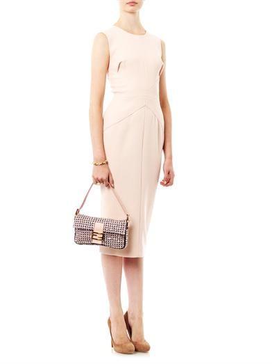Fendi Baguette crystal embellished bag