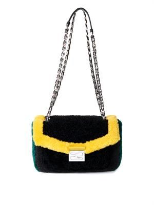 Be Baguette shearling bag