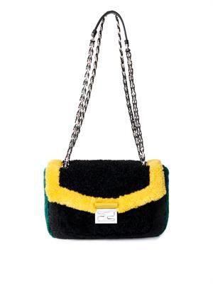 Be Baguette shearling bag