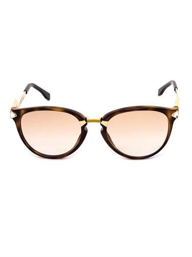 Fendi Irida crystal-embellished sunglasses
