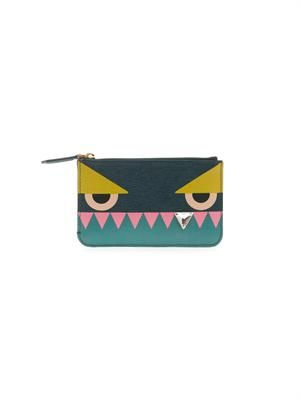 Crayons leather key case