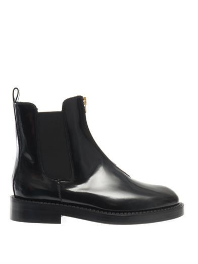 Marni High-shine leather chelsea boots