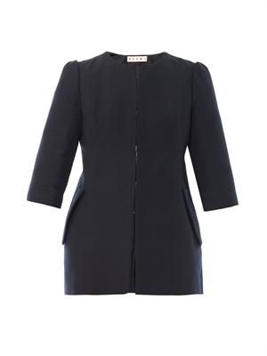 Cotton cady tailored jacket