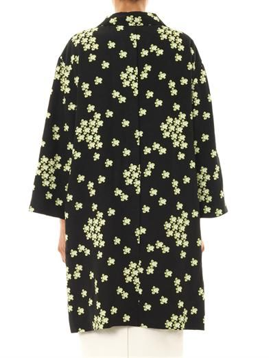 Marni Japanese flower-print coat