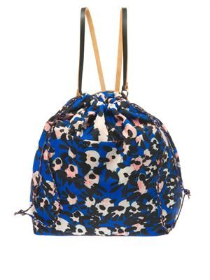 Francois Xavier-print lightweight backpack