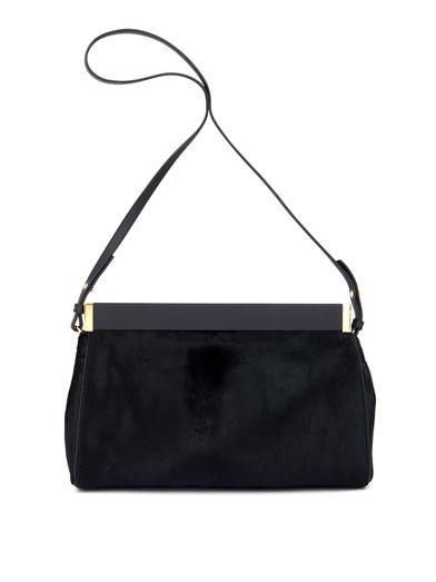Marni Calf-hair and leather clutch