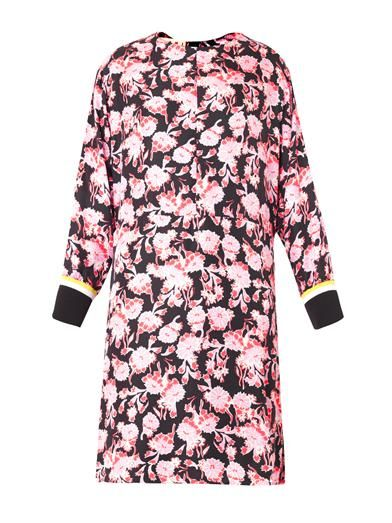 Marni Motion flower-print silk dress