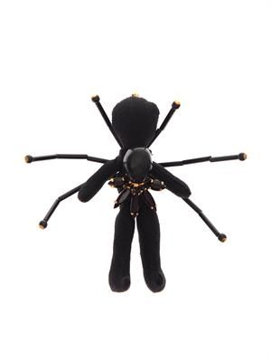 Spider's legs doll brooch
