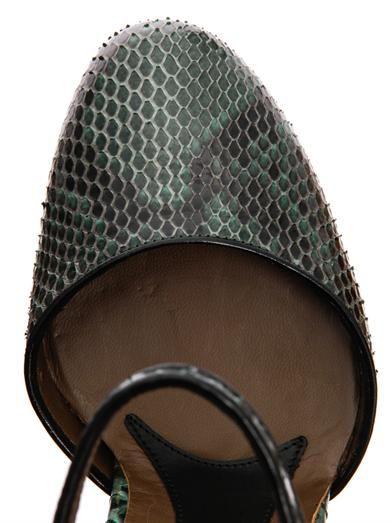 Marni Python Mary Jane heels