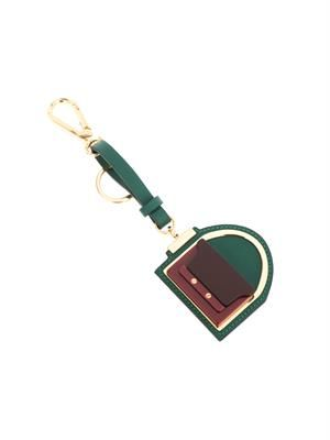 Trunk bag leather key ring