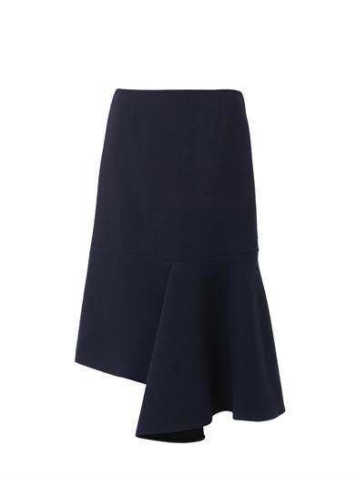 Marni Asymmetric-hem midi skirt