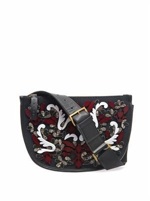 Embellished Marsupio belt bag