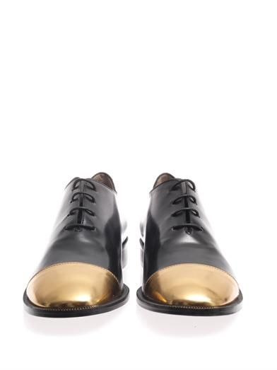 Marni Metallic-toe brogues