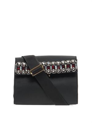 Jewelled shoulder bag