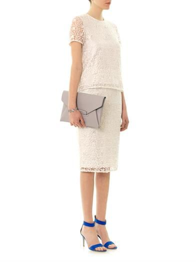 Freda Niamh lace pencil skirt