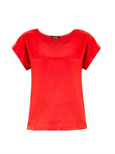 Freda Caris silk T-shirt