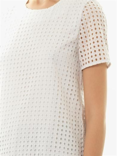 Freda Sofia broderie-anglaise blouse