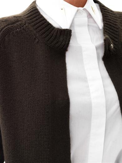 Freda Leah chunky-knit cardigan