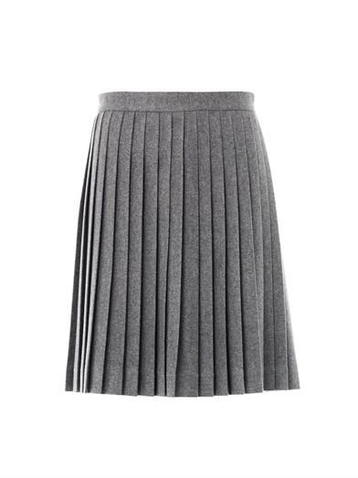 Freda Bella wool pleated skirt