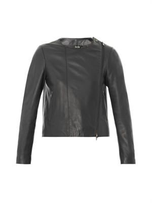 Phoebe leather jacket