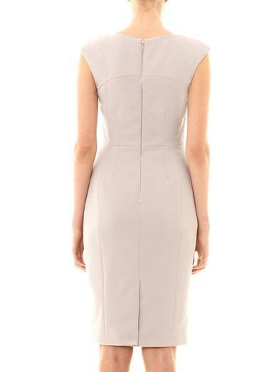 Freda Bailey jacquard panel dress