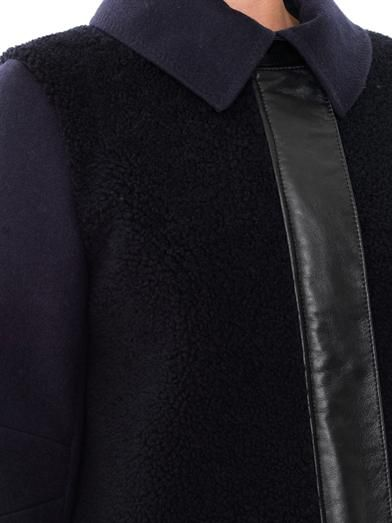 Freda Aubrey shearling coat