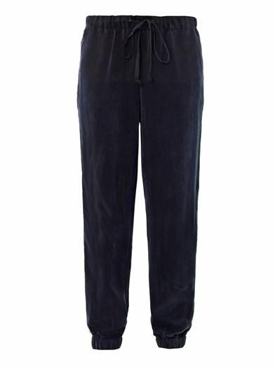 Freda Carly soft-cupro sweatpants