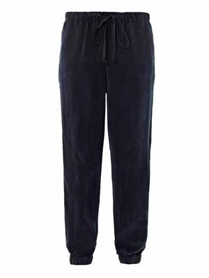 Carly soft-cupro sweatpants