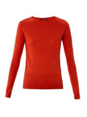 Poppy crew-neck sweater
