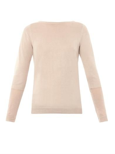 Freda Ciara silk and cashmere-blend sweater