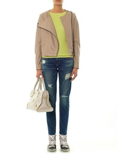 Freda Ciara silk and cashmere-blend sweater