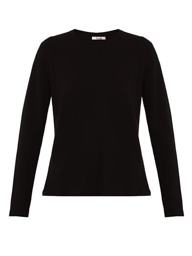 Freda Darcy cashmere-knit sweater