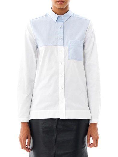 Freda Mia contrast shirt