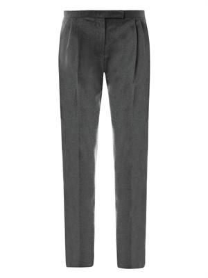 Zoe wool tailored trousers