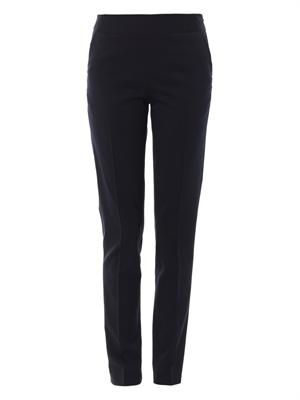 Emilia wool-blend trousers