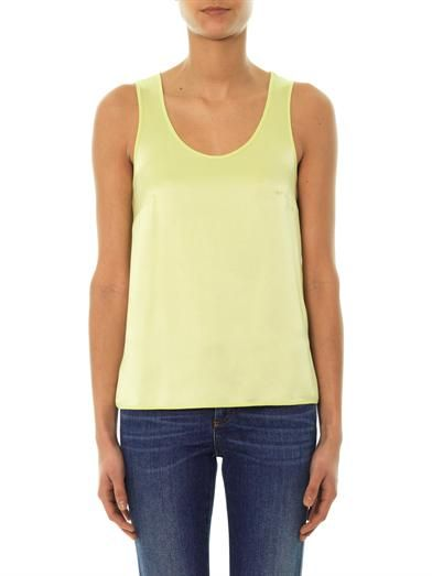 Freda Bea silk tank top