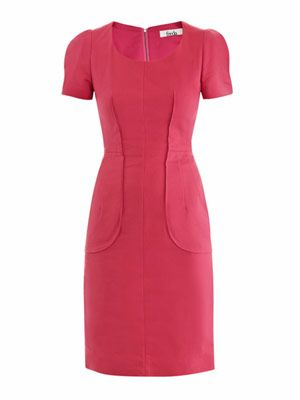 Natasia fitted seam dress