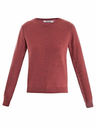 Freda Eleni reverse-knit sweater