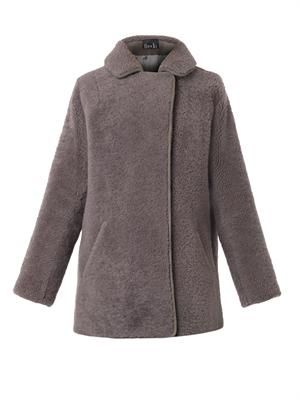 Shearling teddy coat