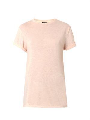 Slub-jersey T-shirt