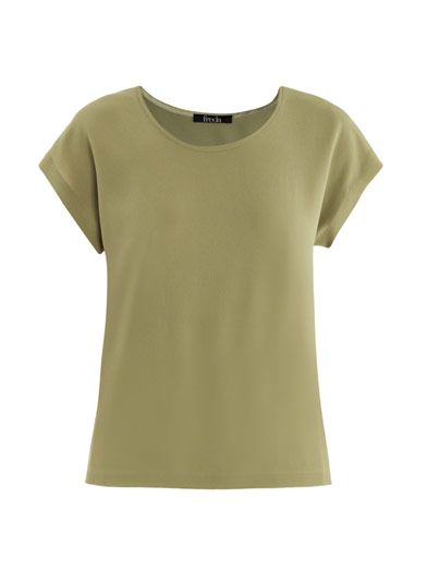 Freda Caris silk top