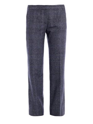 Enya tweed trousers