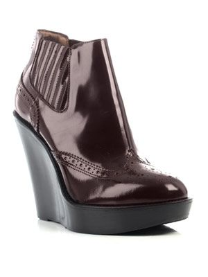 Delisle wedge shoes