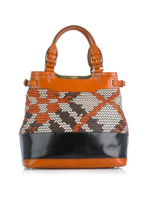 Hepburne orange ochre bag
