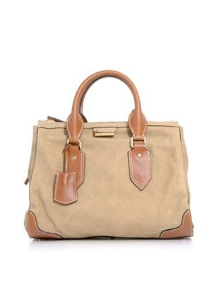 Nubuck Lock the Saddle bowling bag