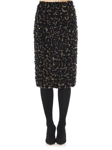 Burberry Prorsum Embellished pencil skirt