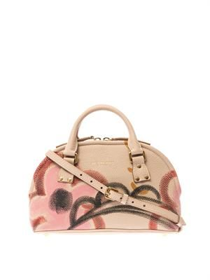 Bloomsbury small leather shoulder bag