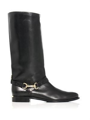 Yorkley mid-calf riding boots