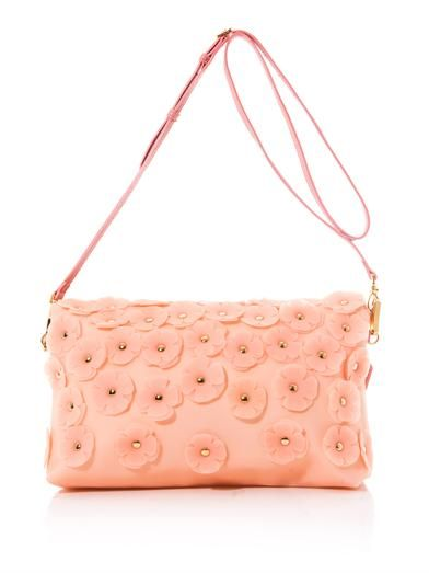 Burberry Prorsum The Petal leather clutch